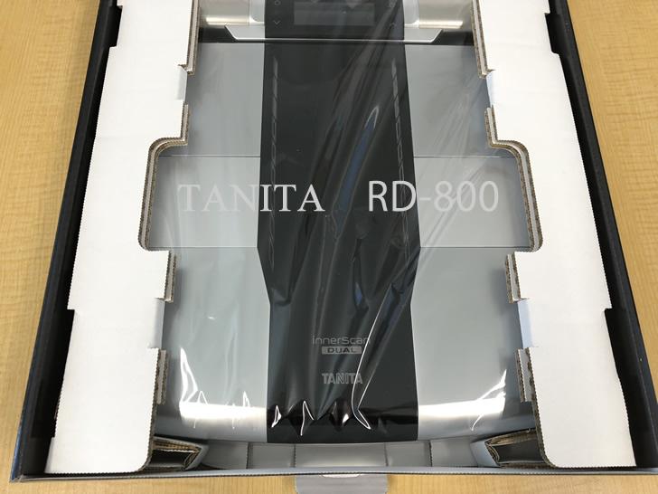 タニタの体組計・ RD-800 本体