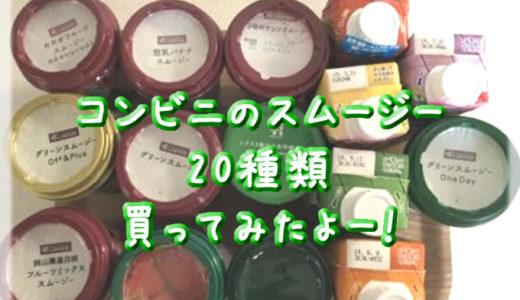 コンビニグリーンスムージー20本の栄養素、栄養成分のまとめ